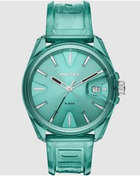 Diesel - MS9 Green Analogue Watch DZ1928