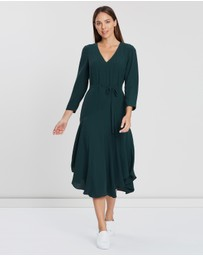 Cooper St - Juliet Long Sleeve Asymmetric Dress