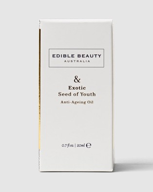 Edible Beauty & Exotic Seed of Youth Anti Ageing Oil - Face Oils (N/A)
