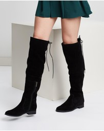 Atmos&Here - Karli Leather Boots