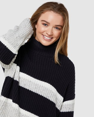 Elwood Ally Knit - Jumpers & Cardigans (Navy)