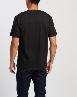 Carhartt SS University Script T Shirt - T-Shirts & Singlets (Black & White)