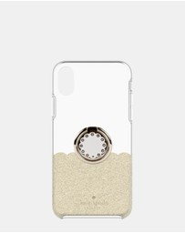 Kate Spade - Gift Set: Ring Stand and Protective Hardshell for iPhone Xs Max