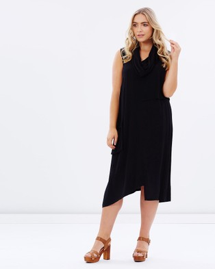 Advocado Plus – Grace Traveller Dress – Dresses (Black)