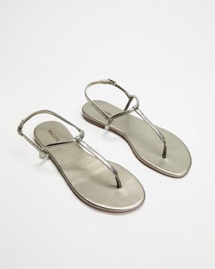 Anacapri Slim Sandals - Sandals (Silver)