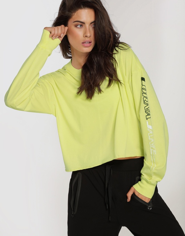 Lorna Jane - Layer Up Cropped Long Sleeve Tee