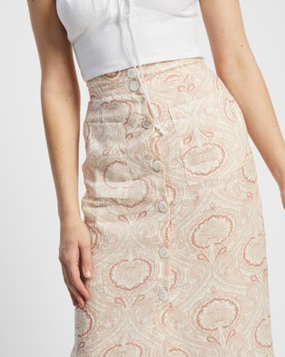 Staple the Label Paisley Skirt - Skirts (Paisley)