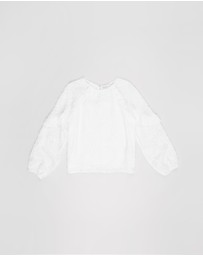 Decjuba Kids - Amelie Burnout Top - Kids-Teens