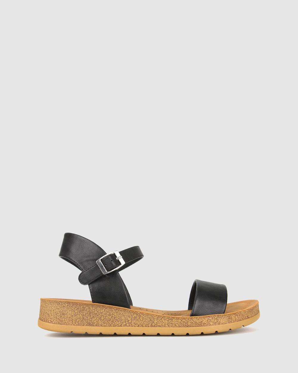 Zeroe Ramble Comfort Sandals Black