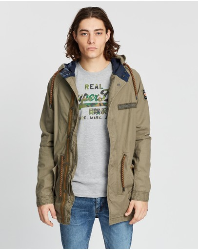 Superdry - Aviator Rookie Parka