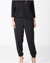 Love Your Wardrobe - Cuffed Pull On Pant
