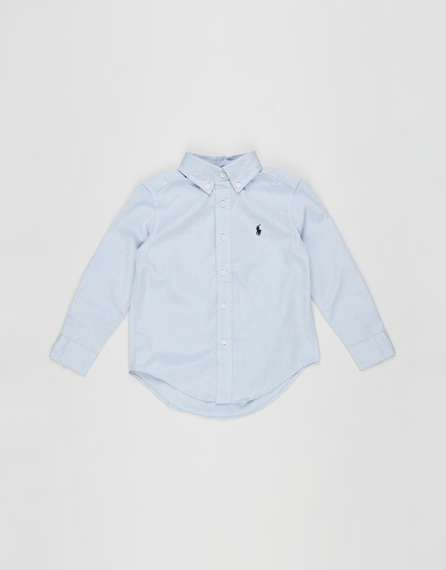 Kids Custom Fit Cotton Oxford Shirt - Kids