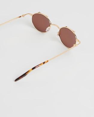 Amber Sceats Joey Glasses - Sunglasses (Gold)
