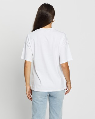 Atmos&Here Love Tee - T-Shirts & Singlets (White)