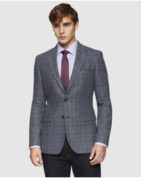 Oxford - Blake Wool Blend Checked Blazer
