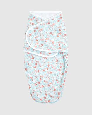 Aden & Anais 3 Pack Wrap Swaddles - Sleep & Swaddles (Fairy Tale Flowers)