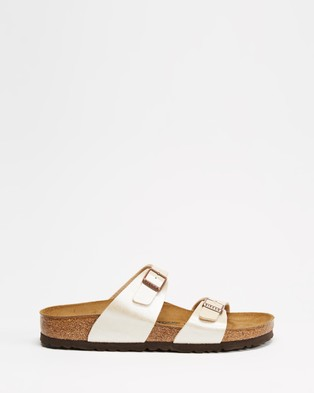 Birkenstock Sydney Graceful Narrow   Women's - Sandals (Pearl White)