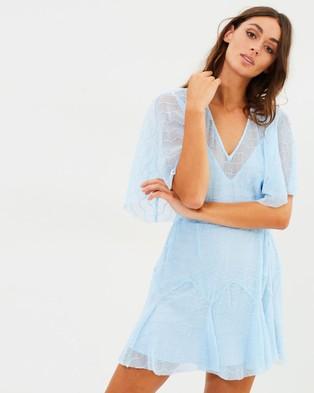 Buy Talulah - Candid Lace Shift Mini Dress - Bridesmaid Dresses Sky Blue -  shop Talulah dresses online