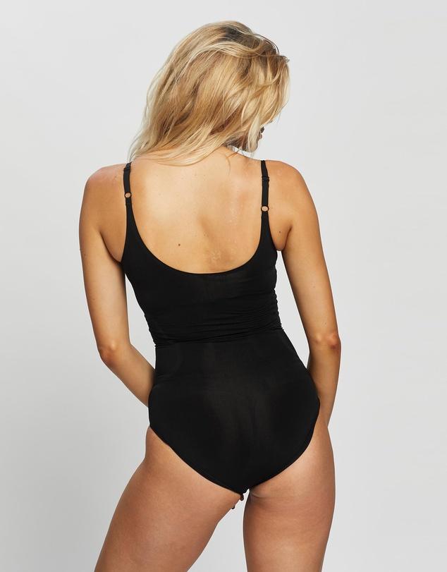 Women OnCore Open Bust Panty Bodysuit
