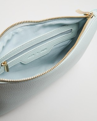PETA AND JAIN Kourtney Crossbody Bag - Clutches (Mint Pebble)