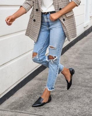 Jo Mercer Cami Dress Flats - Flats (BLACK CROC)