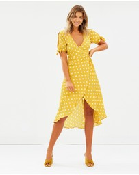 Atmos&Here - Mali Midi Wrap Dress