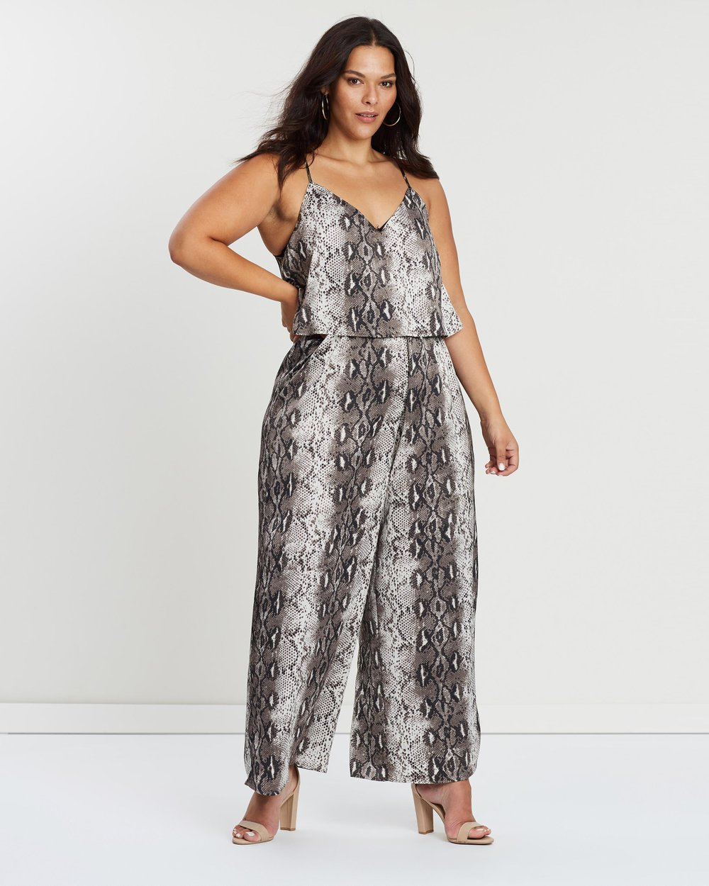 7298b05541 ICONIC EXCLUSIVE - Georgie Jumpsuit by Atmos Here Curvy Online
