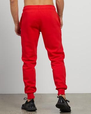 Champion Script Cuff Pants Sweatpants Vermillion