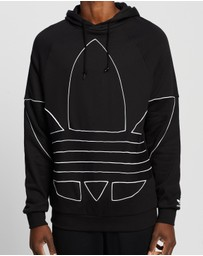 adidas Originals - Big Trefoil Outline Hoodie