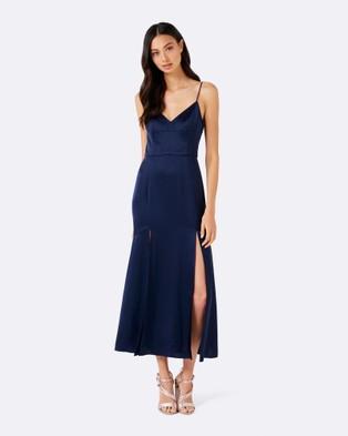 Forever New – Cassie Cami Flippy Dress – Dresses (Navy)