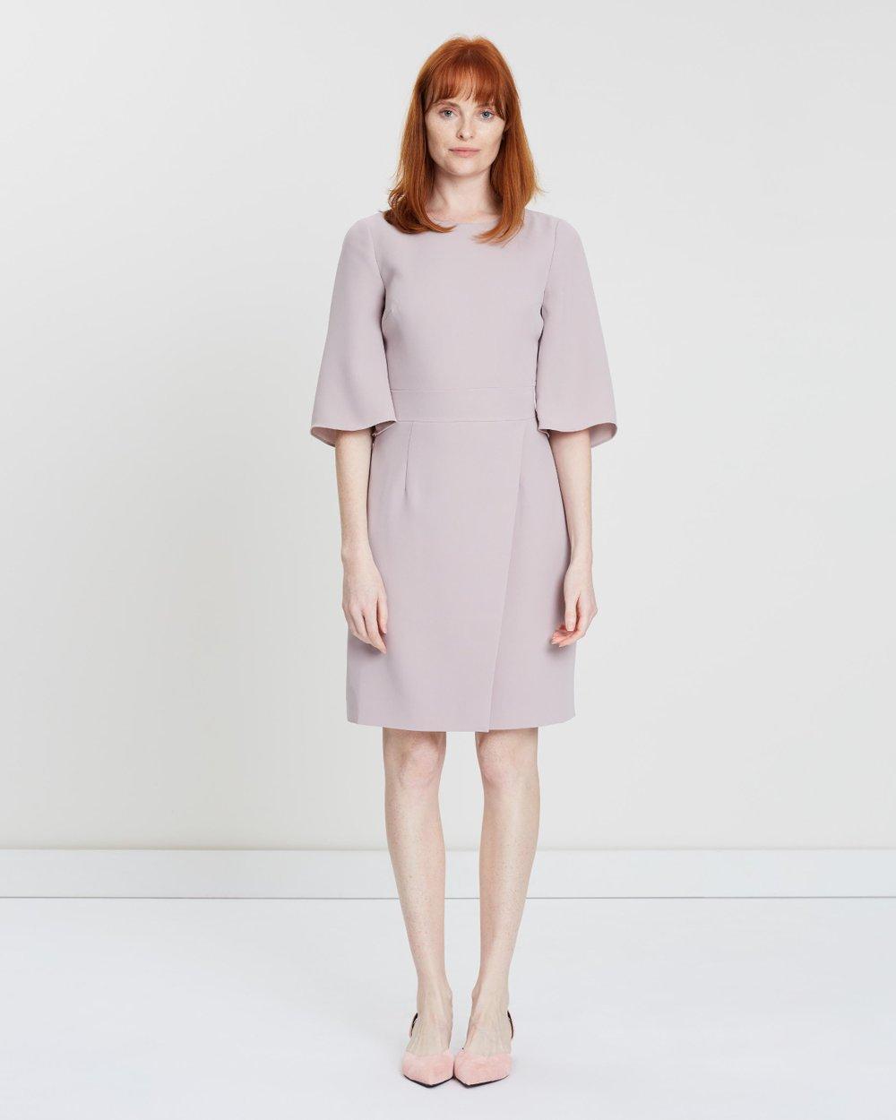 36b13474c9 Myra Wrap Skirt Dress by REISS Online