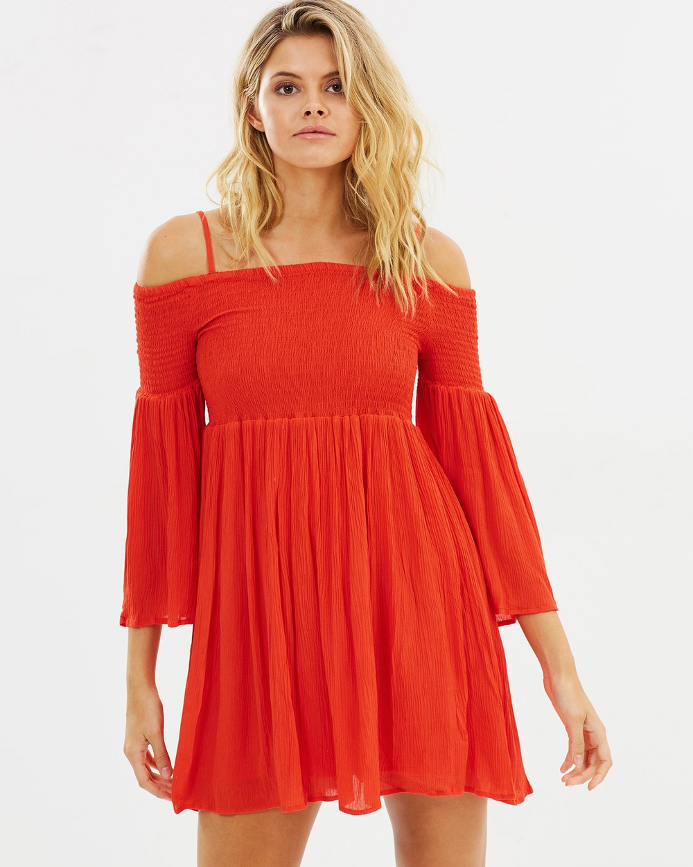 Sass Sofi Shirred Bust Dress Dresses Fire Sofi Shirred Bust Dress