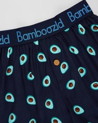 Bamboozld Have An Avo Boxer Shorts - Underwear & Socks (Navy)