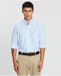 Polo Ralph Lauren - Long Sleeve Pique Knit Oxford Shirt