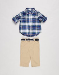 Polo Ralph Lauren - Shirt & Pants Set - Babies