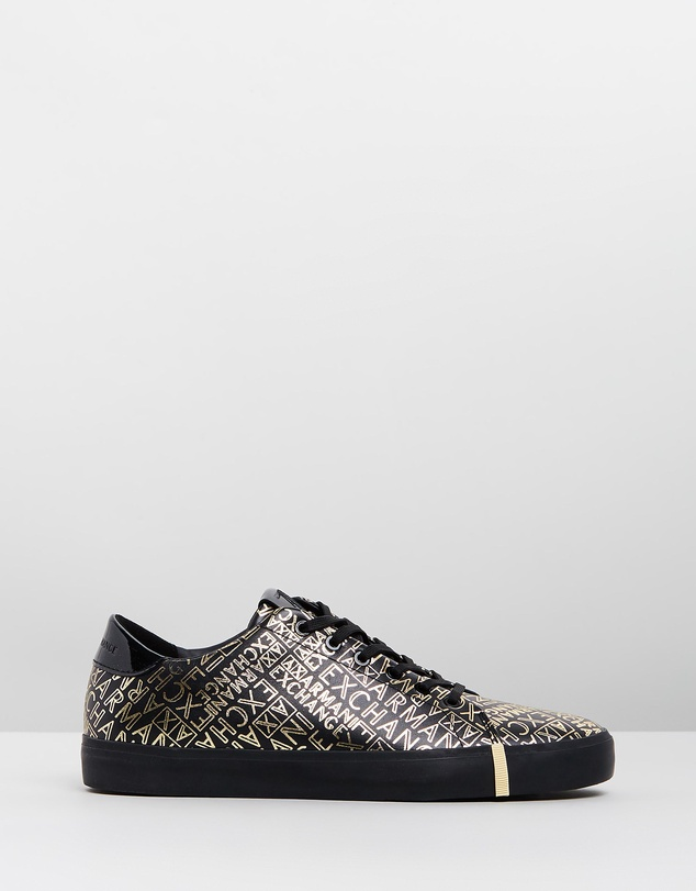 Armani Exchange - Lace-Up Sneakers