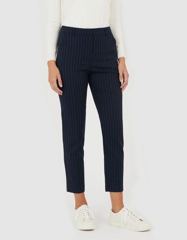 Women Tina Pinstripe Pants