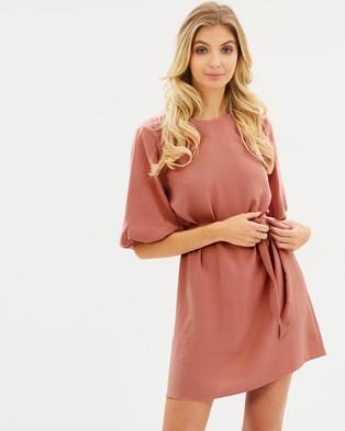 Atmos & Here – Karmen Shift Dress Pink