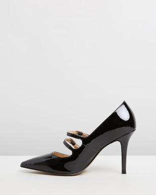 Nina Armando Millie - Heels (Black Patent)