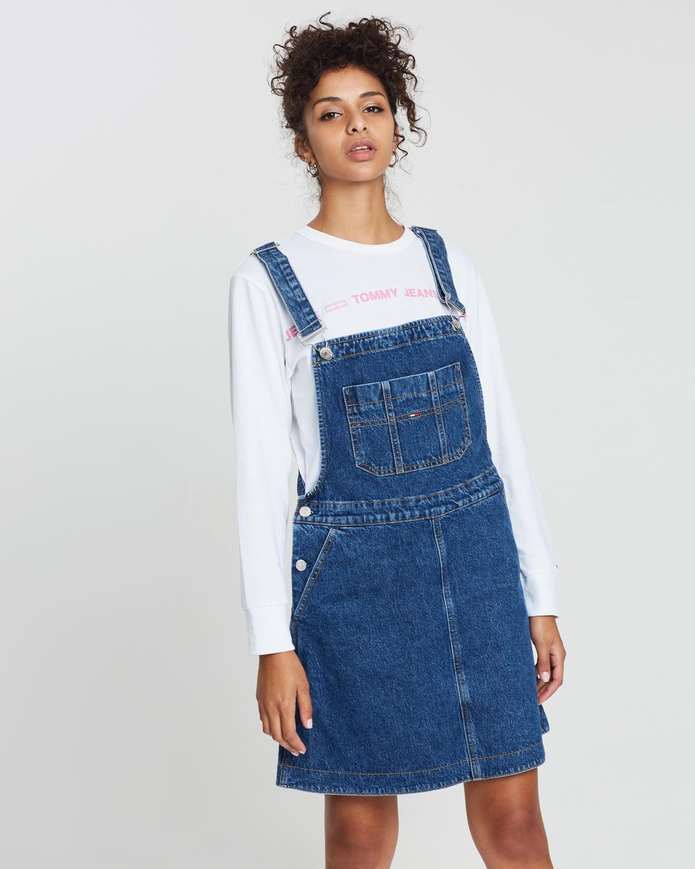 5145842ddba A-Line Dungaree Dress by Tommy Jeans Online