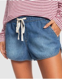 Roxy - Womens Free Ride Denim Shorts