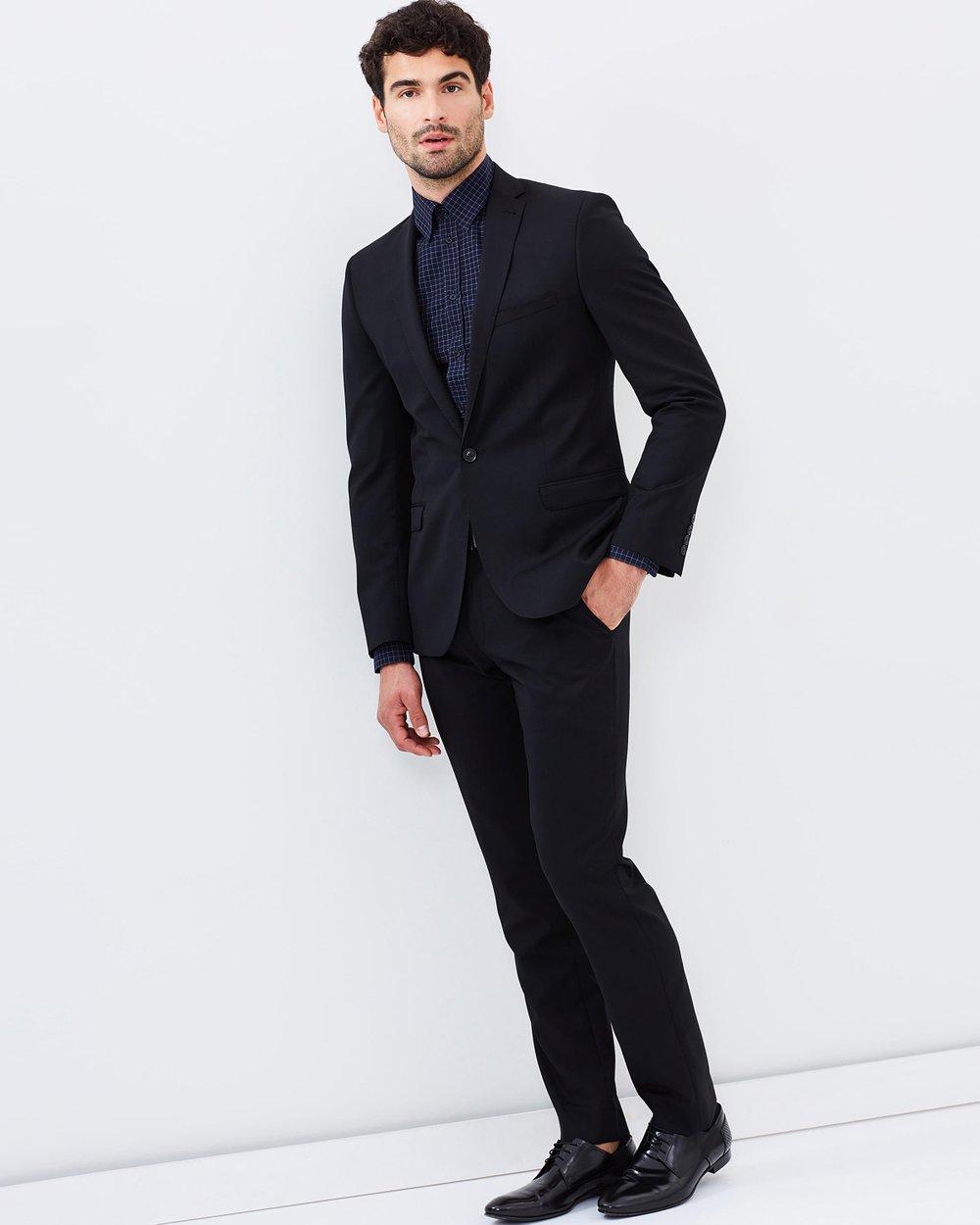 407da72b161cfb Camden Slim-Fit Suit Jacket by Ben Sherman Online | THE ICONIC | Australia