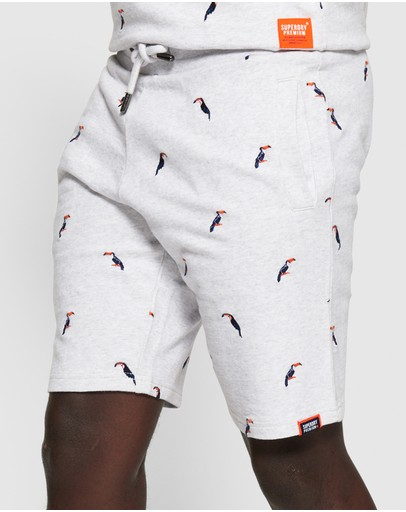 Superdry - All Over Embroidered Shorts