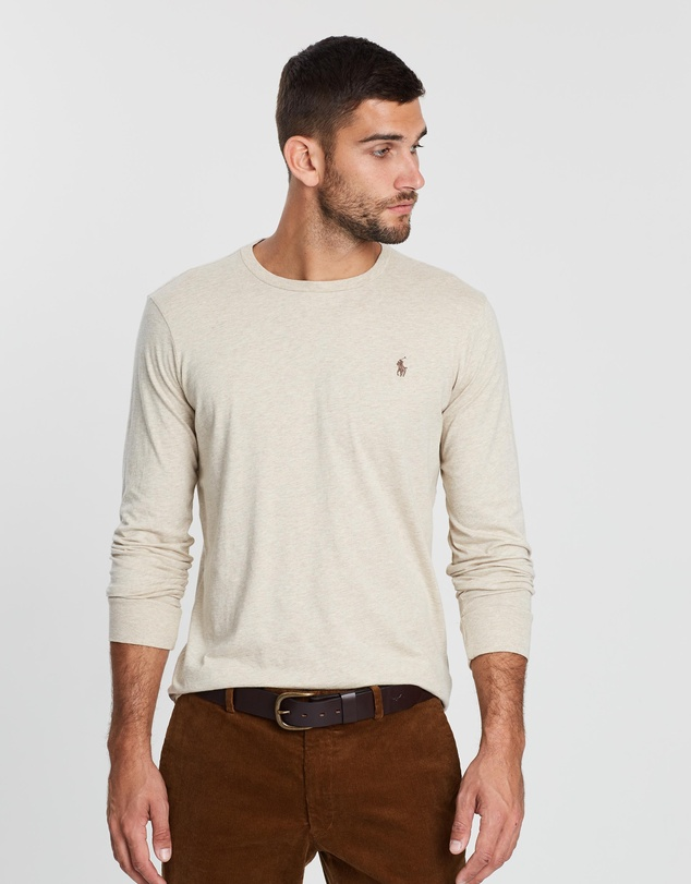Polo Ralph Lauren - Custom Fit Long Sleeve T-Shirt