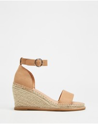 Jo Mercer - Margot High Heel Wedge Espadrilles