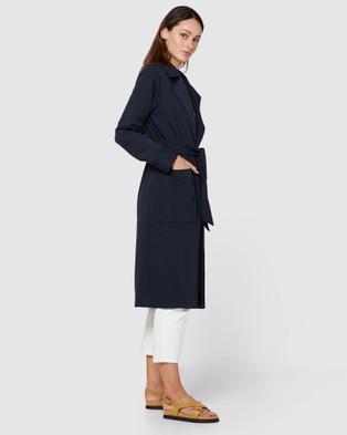 Elka Collective Thea Coat - Coats & Jackets (Navy)