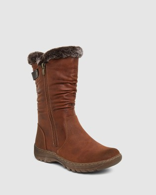 Easy Steps - Element Knee-High Boots (TAN)