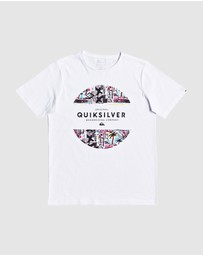 Quiksilver - Boys 8-16 Maxed Prints T Shirt