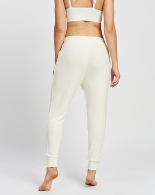 Cotton On Body Supersoft Slim Fit Pants - Joggers (Almond Butter Marle)