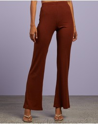 Dazie - Charlie Ribbed Pant